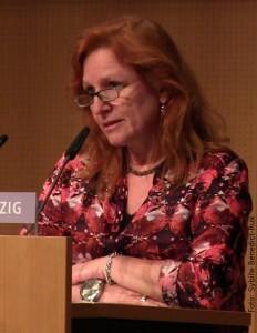 Die Juryvorsitzende Birgit Müller-Bardoff