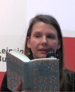Anne Krüger auf der Leipziger Buchmesse 2015