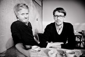 Daniel Beskos und Peter Reichenbach / Foto: Andreas Hornoff