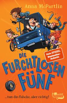 Die Furchtlosen Fünf (Anna McPartlin), Buchcover