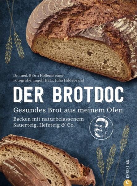 Buchcover Der Brotdoc.Gesundes Brot aus meinem Ofen.